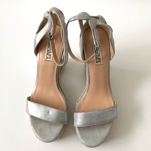 Badgley Mischka Athena Espadrille wedge Platform